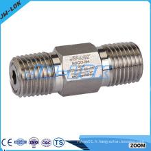 Clapet anti-retour en acier inoxydable de 1 psi 1/4 po en acier inoxydable fabriqué en Chine