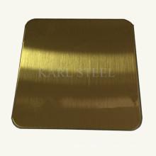 Высокое качество 304 лист нержавеющей стали волосяного покрова на отделочные материалы