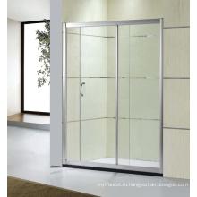 Сантехнические изделия скользящей закаленное стекло двери ванной душевая дверь (D-21)