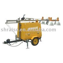 Tour d'éclairage diesel RZZM42C-Manuelle (tour d'éclairage, tour d'éclairage industriel, tour d'éclairage portable)
