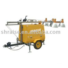 diesel lighting tower RZZM42C-Hand operated(light tower, tower light, mobile light tower)
