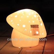 Proveedor de China de la lámpara de escritorio de la seta de porcelana