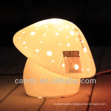 Porcelain Mushroom Desk Lamp china supplier