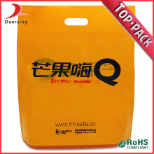 Customized Packaging Type Plastic Die Cut Bags
