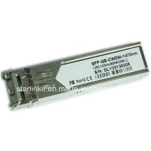 Transceptor de fibra ótica SFP-Ge-CWDM-1470nm de terceiros compatível com Switches Cisco