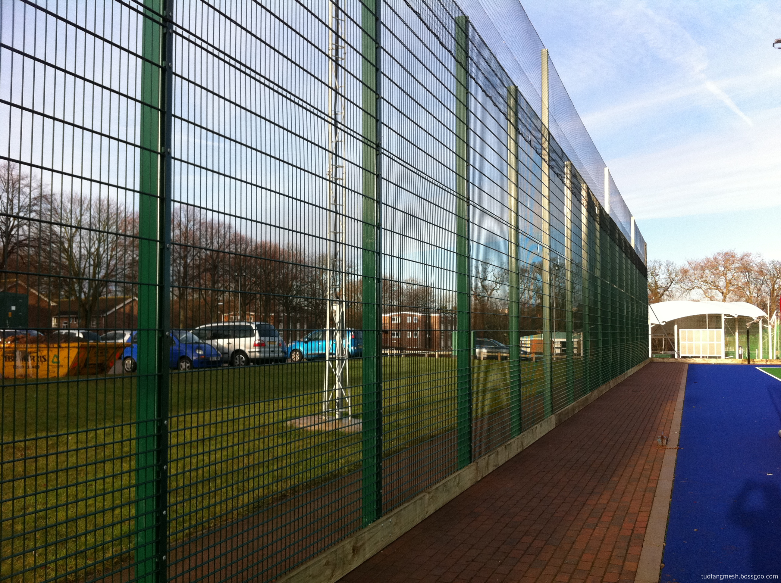 Green Welded High Security Fencing Panels Id 10704098