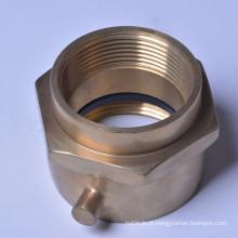 """2 1/2 """"(F) Swivel XM, Conector de bronze / cromado 8521032"""