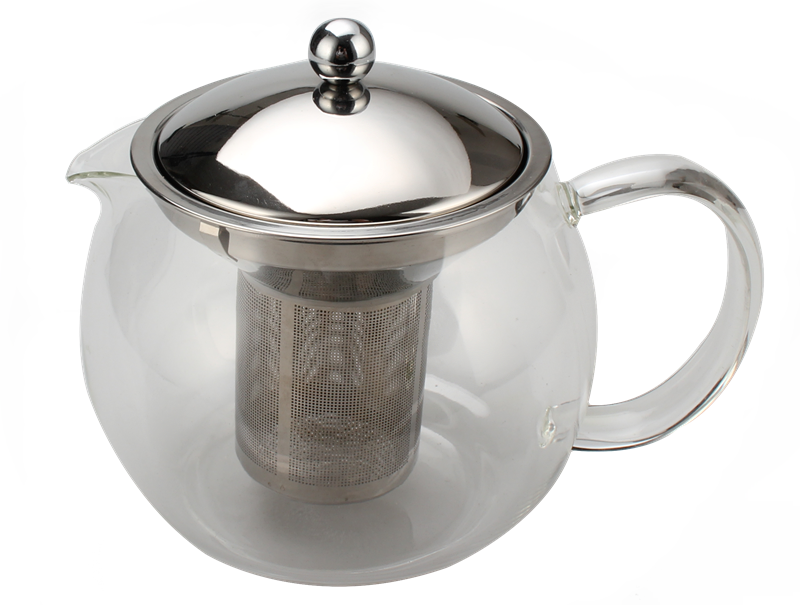 With Stainless Steel Lid And Strainer