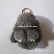 форма кролик меха Брелок норки брелок