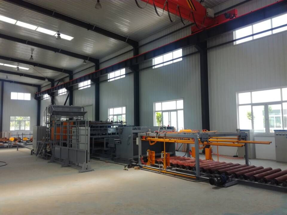 Galvanized Welded Wire Mesh Fence Machine