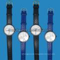Neue Art Marmor Zifferblatt Mode Edelstahl Quarzuhr HL-Bg-046
