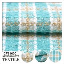 Projete tipos diferentes de matéria têxtil macia da tela do chenille
