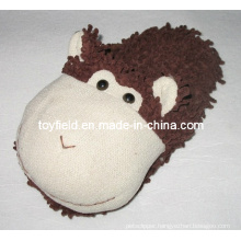 Slippers Plush Stuffed Animals Head Shoes (TF9721)
