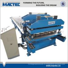rouleau de toiture en tôle métallique formant la machine