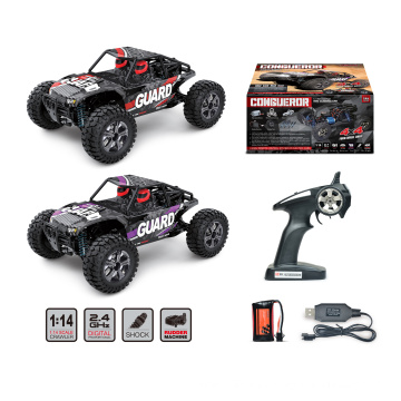 Add to CompareShare 1:14 Scale 2.4GHZ 4WD High Speed RC Buggy CONGUEROR BG1520