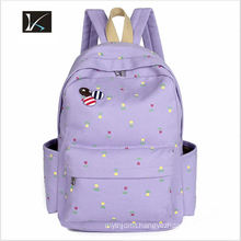 2016 Cute Doll Snacks Cartoon Girls Backpack School Bag