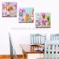 Kind-Raum-Dekoration-Wand-Kunst / glückliches Ostern-Plakat / Großhandelshauptdekoration-Segeltuch-Druck