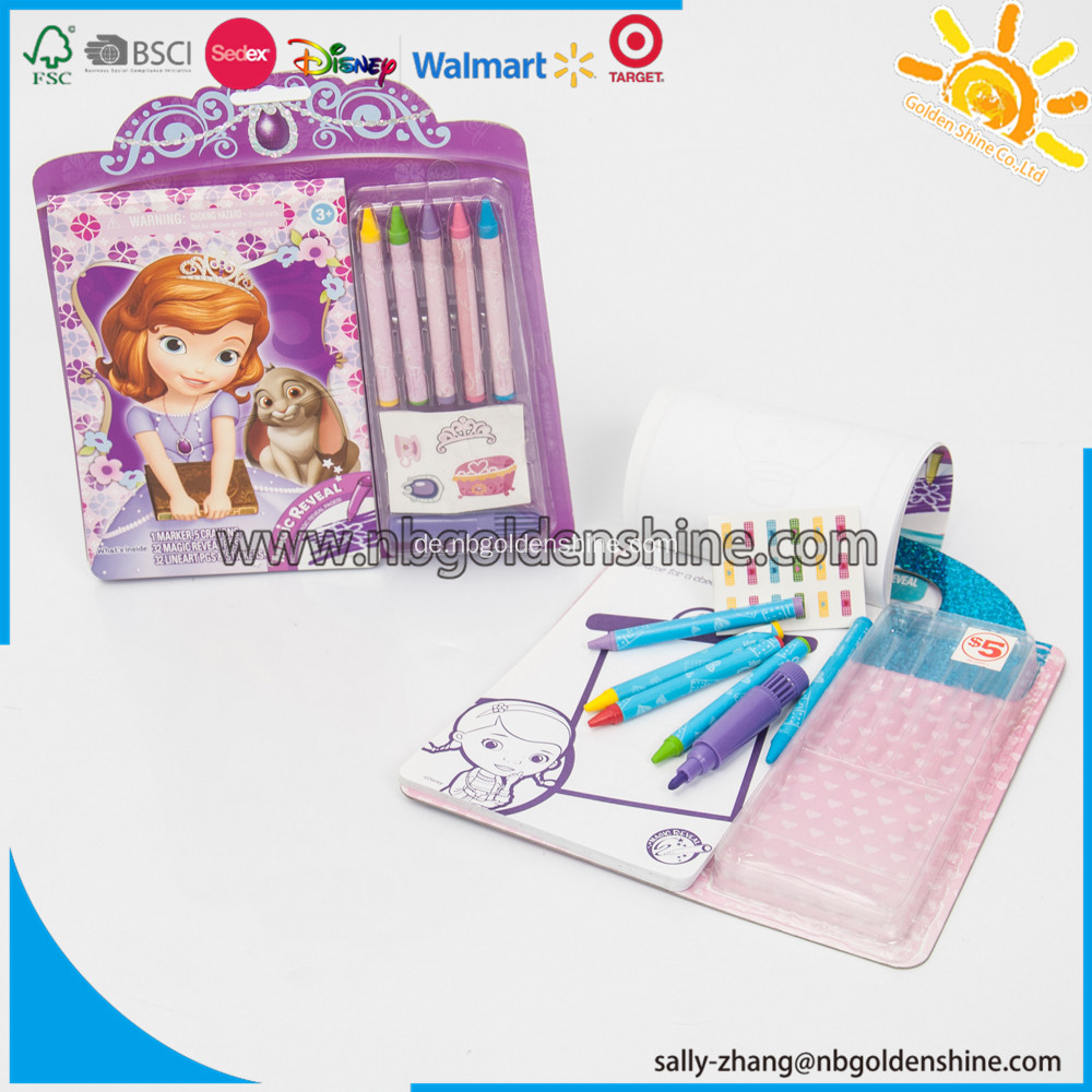 Magical Reveal Activity Pad
