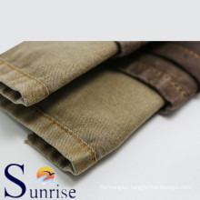 Cotton Polyester Spandex Denim Fabric For Clothing