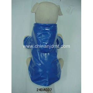 Waterproof blue dog clothes