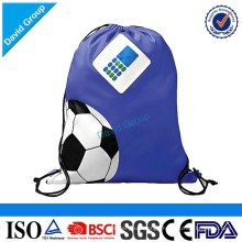 New design cheap wholesale drawstring fashional sports drawstring backpack bag