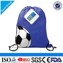 Новый дизайн дешевые оптовые шнурок модное спортивный рюкзак drawstring сумка