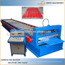 Roller Shuttering Porta Slat Construção Cold Roll formando máquina / rolante shutter porta fazendo máquina