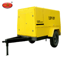 Portable Air Compressor Trailer for Drilling Rig