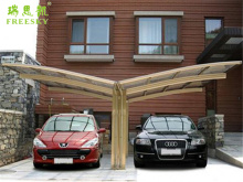 storage car shed design for car and motorcycle