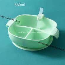 Custom logo eco silicone foldable pet bowl
