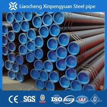 Günstiger ASTM A106Gr.B nahtloses Stahlrohr mit schwarz lackiert