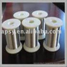 fil mince en acier inoxydable