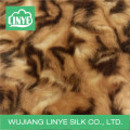 unique print plush fabric, faux fur, auto upholstery fabric