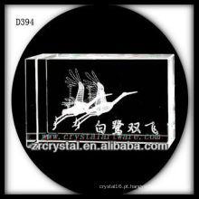 K9 3D Gravura a Laser Imagem de Cristal