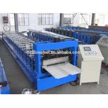 Standing Seam Metal Roofing Sheet Cold Roll Forming Machine Hydraulic Drive Bemo Roll Forming Machine
