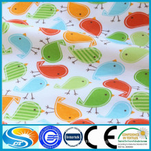 children bedding set fabric printing flannel baby bed sheet