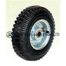 """Roues pneumatiques 8 """"X2.50-4 avec roue en caoutchouc"""