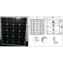 18V 70W 75W 80W Monocrystalline Solar Panel PV Module with Ce Approved