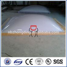 feuille de polycarbonate opaque blanche pour décoratif