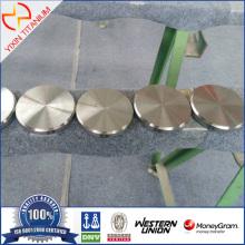 ASTM B348 GR23(TI-6AL-4V-ELI)Titanium target for CAD CAM Mmachining