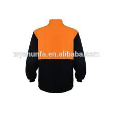 AS/NZS 1906.4:2010&4602.1:2011 norm reflective sweatshirts ,long sleeve single fleece fabric
