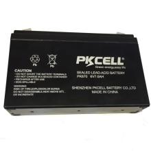 2018 PKCELL 6v 7ah selou o tipo acidificado ao chumbo AGM da bateria recarregável