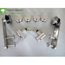 Hardware de la puerta de granero deslizante de acero inoxidable 304 Sh-1002