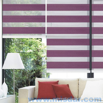 Window Treatment Double Layer Shade