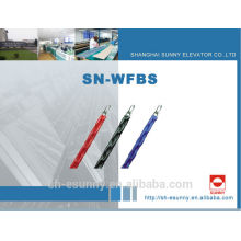 Completo-plástico flexible ignífugo equilibrio compensando proveedores de cadena, bloque de cadena, cadena, cadena suministros/SN-WFBS