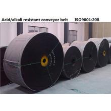 Bande transporteuse acide & alcali résistants en caoutchouc résistant à la Corrosion