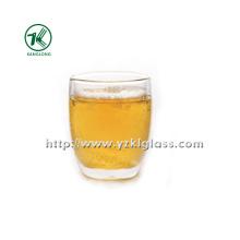Doppelwand-Glasbockle von BV, SGS, (Dia10cm, H: 11.5cm, 428ml)