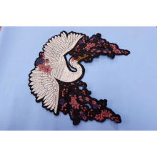 Flower Iron on Embroidery Applique
