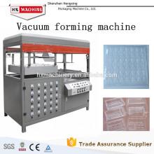 Semi-automático Estação Única Thermo Vacuum Plastic Plastic Forming Machine