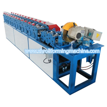 Roller Shutter Door Roll Forming Machine with Saw Cutting